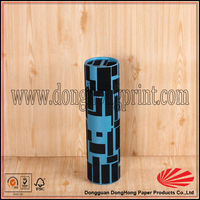 Cylindrical paper round gift badminton box