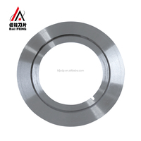 Tobacco /Dry Fruit Dicing Carbide Circular Knife Blade For Industrial Machine