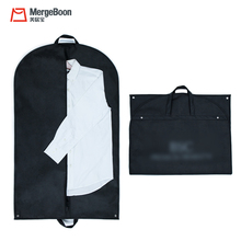 Foldable carry on non woven garment cover bag for suits clothes