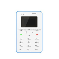 DIHAO cheap card phone Mini 1 0.96 inch Single Micro SIM Keyboard Card Mobile Phone