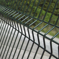 curved galvanized welded wire mesh fence panels with factory price