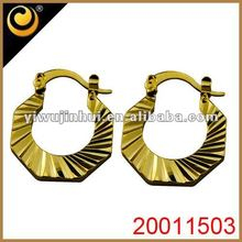 2012 Fashionable Earrings Yellow Rooster Feather Earrings Long Feather Earring
