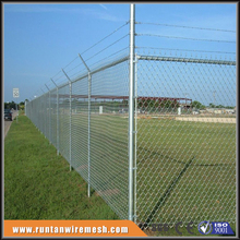 installing 8 foot galvanised chain link fence post diameter