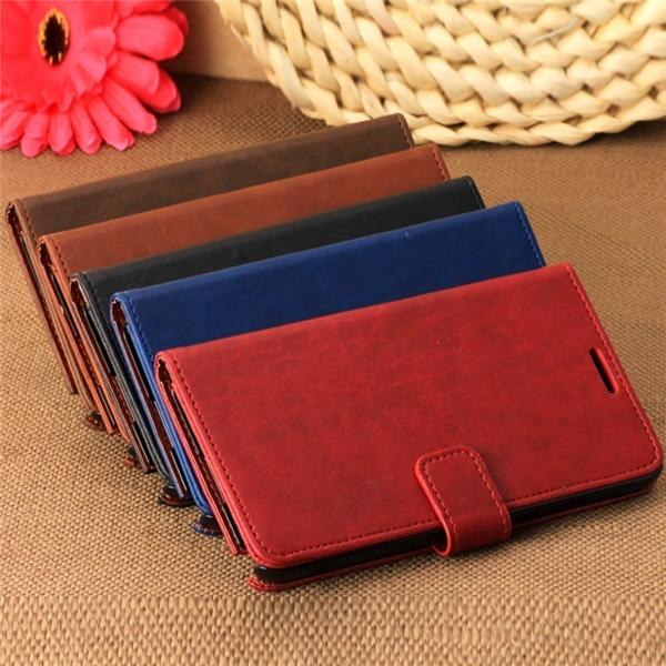 Luxury Flip-Retro wallet leather case for samsung galaxy note 3 III N9000