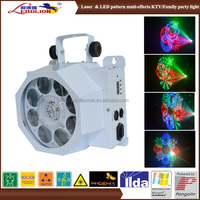 New DJ Equipments for KTV /home party /disco / wedding event light show laser & led pattern muti effect lights