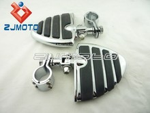 Unique Motorcycle 4451 Iso-Wing Pegs with Clevis & 1-1/4 Clamps FOR Coool Fashion Motorcycle