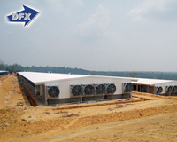 Sandwich Panel Insulated H Steel Structure Chicken Poultry House