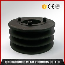 New style cnc machining tractor belt pulley with grey iron casting parts