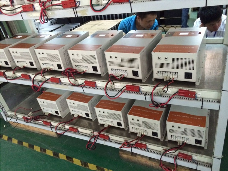 < MUST>1-6KW pure sine wave single phase PV inverter with MPPT controller