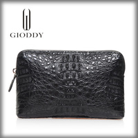 The classical design 100% genuine crocodile skin leather wallet india