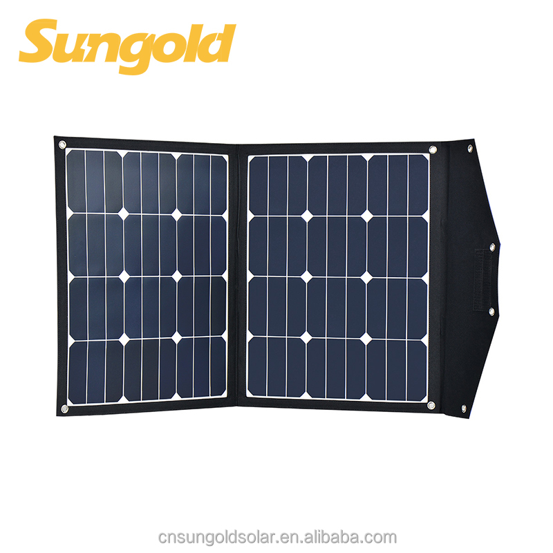 50w 18v portable solar charger bag foldable panel for camping,rv