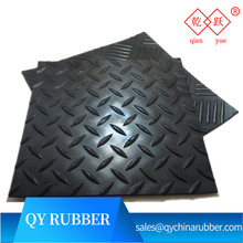 China supplier long lasting easy cleaning anti skid rubber sheet