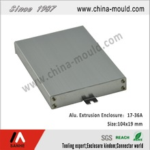 small aluminum box