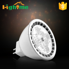 Led spot light dimmable bulb GU5.3 base UL certificates 5 years warranty CRI90 7W 450lm 25 degree