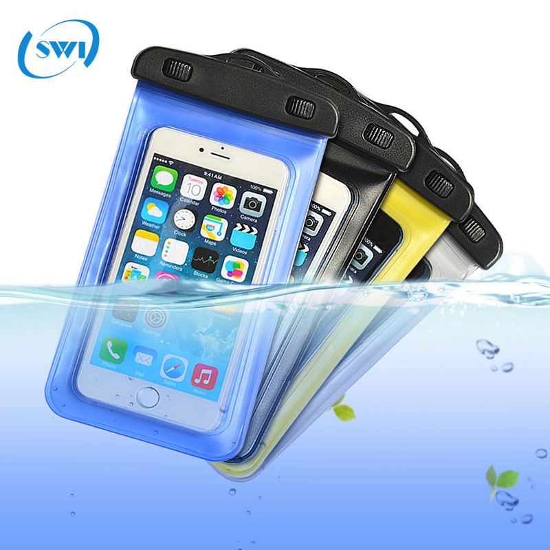Universal waterproof bag for mobile phone, cell phone accessory waterproof phone case for iphone X bag