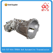 High quality 315-727-014 TFR54 4x4 Automotive Transmission for 4J Series Engine Diesel heavy truck gear box