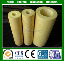 Fireproof cast basalt pipes, 100kg/m3 Basalt rock wool pipe insulation