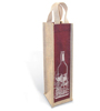 2015Wholesale Factory Supplier custom printed foldable wine bag