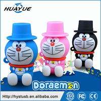 Promotion usb gift Cartoon Doraemon otg pendrive 2in1 usb flash drive for smart phone cheap gadget u disk