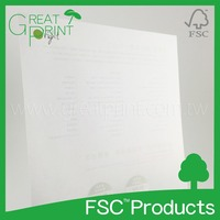Custom Eco- friendly Full Color Printing Letter Paper