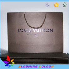 Factory price matte lamination heavy-weight paper bags/custom made garment bag