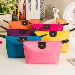 Custom waterproof nylon Organizer travel Toiletry Cosmetic Makeup Bag