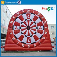 Inflatable Dart Board Kids Indoor Playground