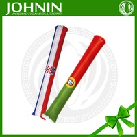 Wholesale Promotion Gift Fans Inflatable Cheering Plastic Flag Sticks