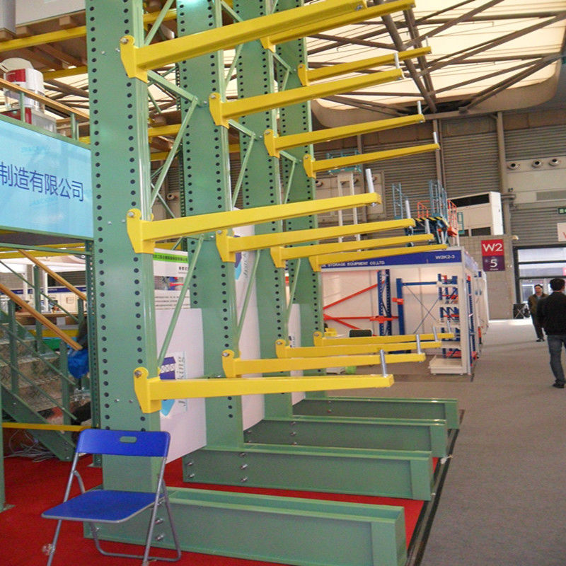 q235b steel box beam single or double cantilever rack