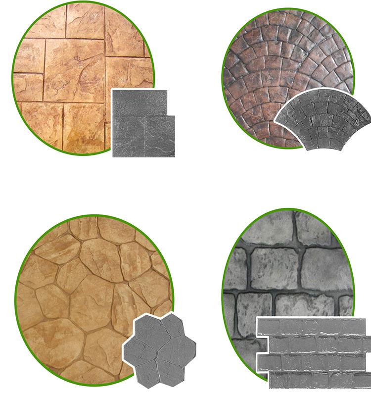 Imperial Ashler Slate Decorative Concrete Stamps Rubber