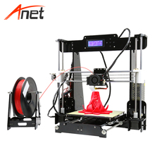 2018 China factory arduinoe fast anet a8 auto bed leveling 3d metal printer