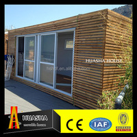20ft professional high quality prefab container sunshine summer house for living