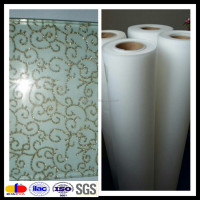 0.38MM Thickness Ultra Clear EVA Film for Fabric Laminated Glass