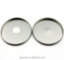 high quality equisite round CD DVD metal tin box for packing