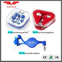 Cheap Customized Logo Promotion Earphone Amp