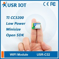 USR-C322 SMT Serial UART to Wifi 802.11 b/g/n Module with TI CC3200 Chip