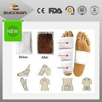 fda approved body detox foot sheet