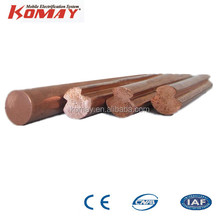 KOMAY Hot Sale Overhead Copper Wire/ Trolley Wire for Copper