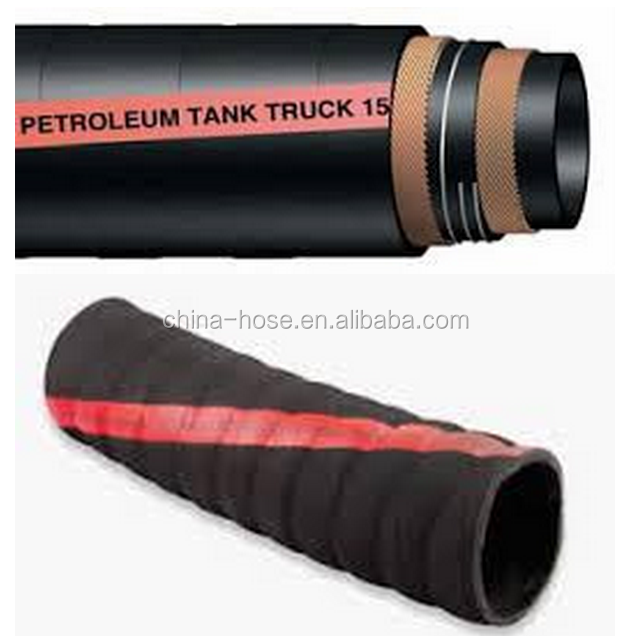 Tank truck hose for suction and delivery of Petroleum,gasoline,oil and fuel