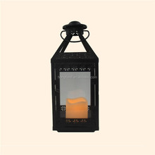 2015 Hot Sale Black Color Fashion Style Candle Lantern