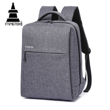 Factory direct sell 2018 custom men business laptop backpack