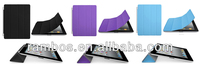 Automatic Sleep/Wake Front Smart Cover + Back Case Slim Magnetic Leather Cover for iPad Air