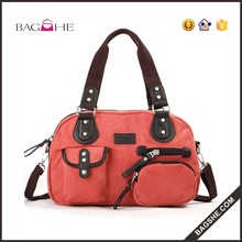 2016 Fashion wholesale elegance bags famous brand women canvas lady tote bag handbags