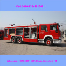 300hp Engine Sinotruck Fire Tanker,Foam Fire Fighting Truck For Sale,4x2/4x4 7cbm Water Tank-foam Fire Fighting Truck