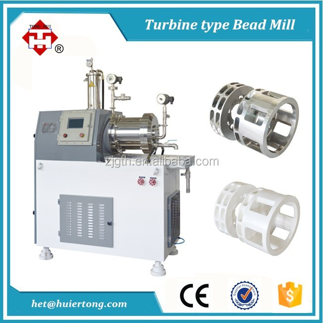 Extra Fine Particles Jet Ink Nano Mill Machine