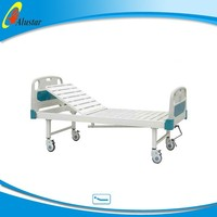 ALS-M104 good quality Adjustable one function patient sleeping bed