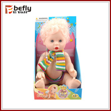 8 inch yellow hair boy toy realistic baby doll
