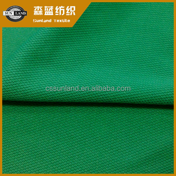 knitted 100 polyester wicking mesh fabric for activewear