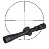 M3 3.5-10X40E Air Guns and Weapons Tactical Airsoft Hunting Red / Green Dual Illuminated riflescope