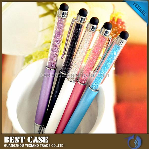 Top selling products in alibaba 2 in 1 Screen Touch Stylus Metal Pen